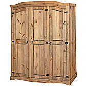 Home Essence Corona 3 Door Wardrobe