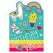 Selfie Celebration Party Postcard Invitations