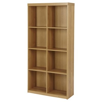 Maine 8 Cube Bookcase - Oak