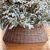 Kaemingk - Willow Christmas Tree Ring - 70cm Diameter - Brown