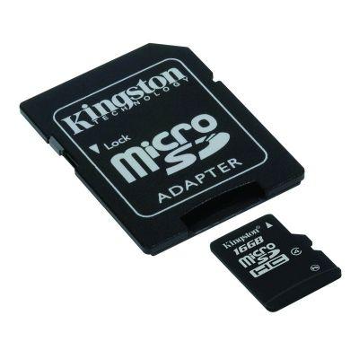 Kingston SDC4/16GB 16 GB microSDHC