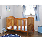 Obaby Beverley Cot Bed and Mattress - Pine