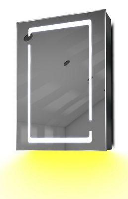 Demist Cabinet With LED Under Lighting, Sensor & Internal Shaver Socket k356y