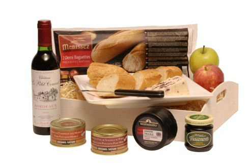 ploughmans lunch with wine (TC51)