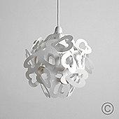 Modern Designer Style Heart Ball Ceiling Light Pendant Shade, White