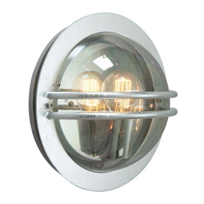 Galvanised E27 Smoked - 1 x 60W E27