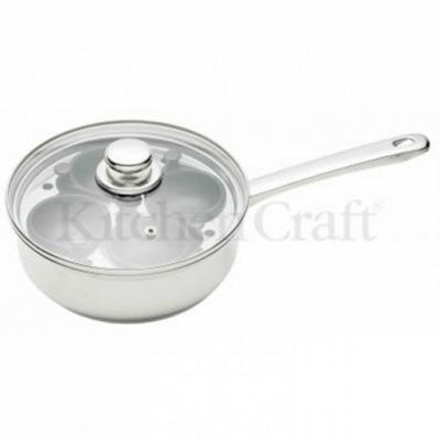 TP - Egg Poacher - 4 Cup -14cm Stainless Steel