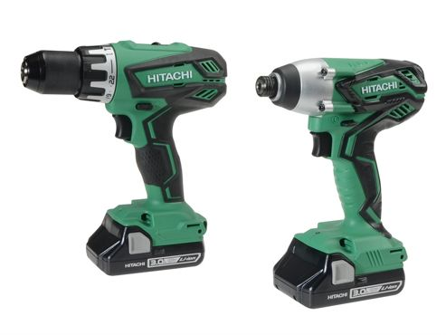 Hitachi KC18DGL(S) Twin Pack 18 Volt 2 x 3.0Ah Li-Ion