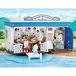 Sylvanian Families Seaside Restaurant Playset