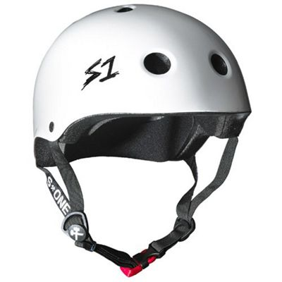 S1 Helmet Company Mini Lifer Helmet - White Gloss (Large)