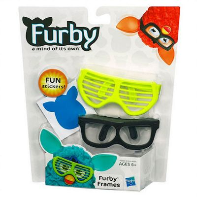 Furby Accessory Pack Furby Frames - Black and Yellow Glasses