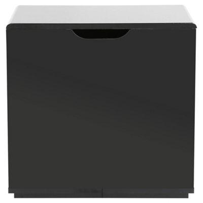 Stockholm Black Gloss Storage Seat