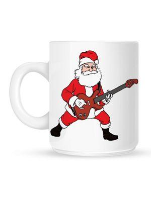 Rockin' Santa 10oz Ceramic Mug