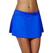 F&F Shaping Swimwear Skirted Bikini Briefs - Cobalt
