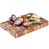 VonShef 100% Acacia Wooden Chopping Board
