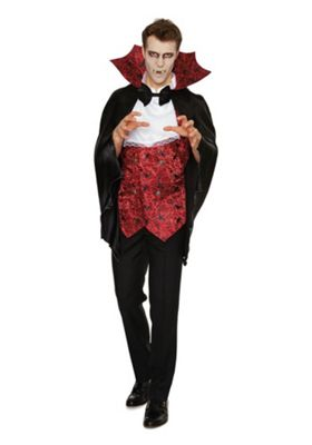Buy F&F Vampire Halloween Costume from our Adult Halloween range ...