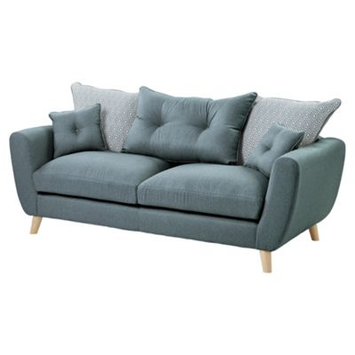 Holborn Large 3 Seater Sofa, Teal