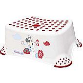 Disney Minnie Mouse Toddler Toilet Training Step Stool - White