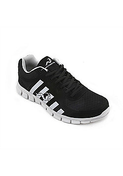 Woodworm Sports Ctg Mens Running Shoes / Trainers - Black