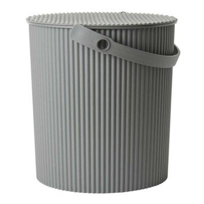 Hachiman Omnioutil Storage Bucket & Lid Large Dark Grey