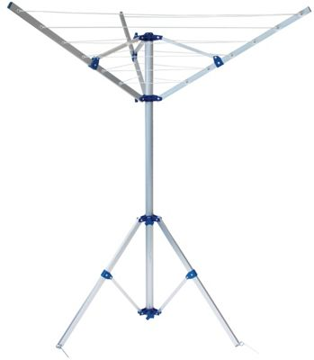 Yellowstone 3 Arm Aluminium Airer with Carry Bag