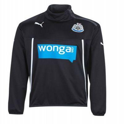 2013-14 Newcastle Puma Half Zip Jacket (Black) - Kids