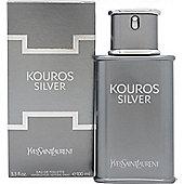 Yves Saint Laurent Kouros Silver Eau de Toilette (EDT) 100ml Spray For Men