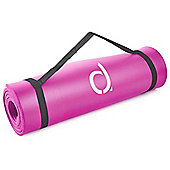 Andrew James Thick Cushioned Exercise / Yoga Mat in Pink