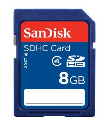 SanDisk SDHC Memory Card 8GB