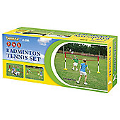 2 in1 Childrens Tennis Badminton Training Set Kids Trainer