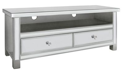 Classic Mirror Entertainment Cabinet With NEW Crystal Handles