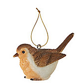 Mini Robin Christmas Tree Decoration
