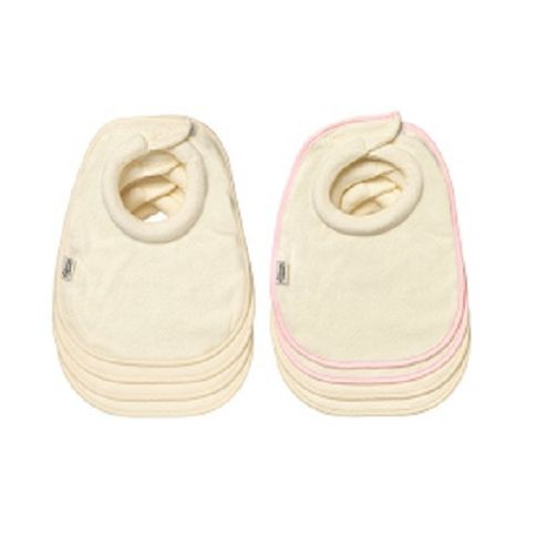 Tommee Tippee Milk Feeding Bibs Pack of 4 Pink