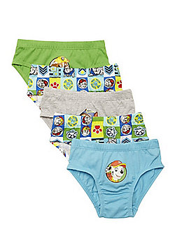 Nickelodeon 5 Pack of Paw Patrol Briefs - Multi