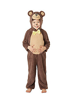 Three Bears Fancy Dress Costume - Brown