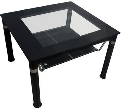 Java Black Lamp Table