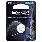 Infapower CR2432 Lithium Coin Cell, 3V (L902)