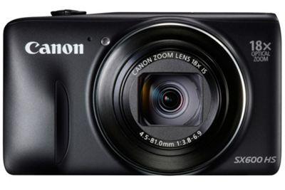 Canon Powershot SX600 Digital Camera, 16MP, 18x Optical Zoom, 3 LCD Screen, Wi-Fi