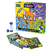 BrainBox 4 in 1 Game: Cities, Sport, Nature and Space