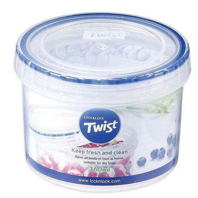 Lock and Lock 360ml Twist Top Container Clear