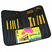System 3 Acrylic Brush Collection