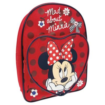 Disney Minnie Mouse Mad about Minnie Kids' Backpack