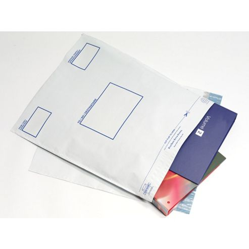 PostSafe DXC Envelope Extra Strong Polythene Opaque W400xH430mm Self Seal Ref P27 [Box 100]
