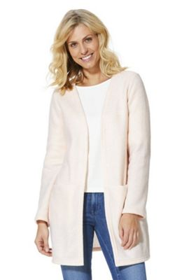 Vila Patch Pocket Coatigan Blush Pink L