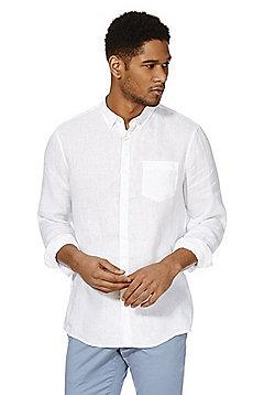 F&F Linen Shirt - White