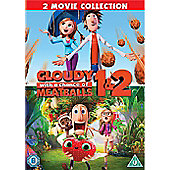 Cloudy With A Chance Of Meatballs 1&2 (DVD)