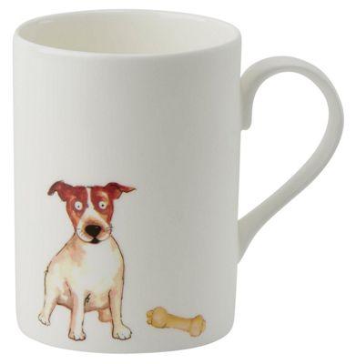 Roy Kirkham Lucy Mug Jack Russell Dog