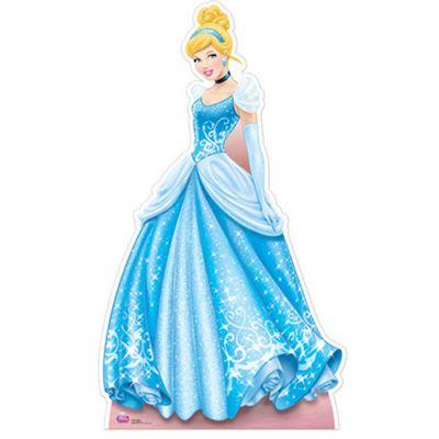 Cinderella Cardboard Cutout - 163cm