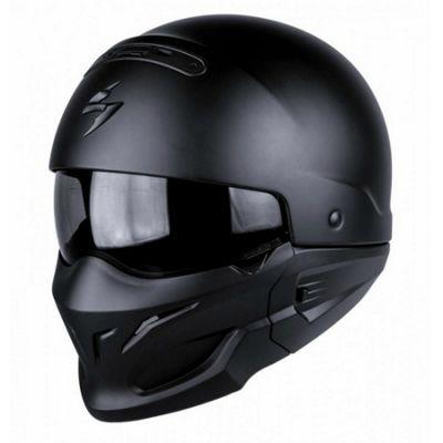 Scorpion Exo Combat Black Helmet- XSmall