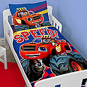 Blaze Toddler Bedding - Zoom